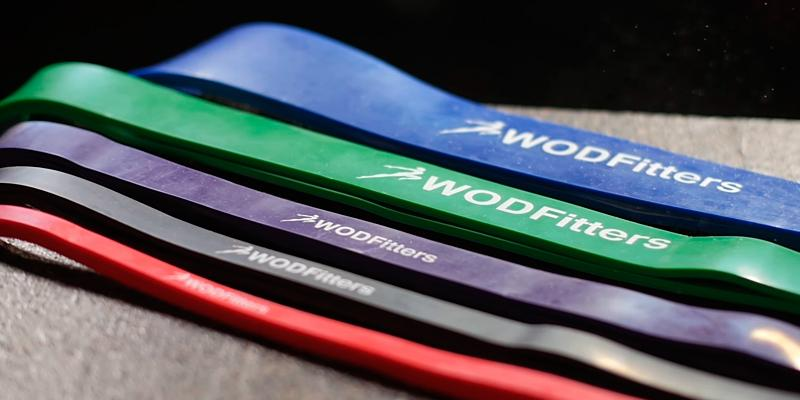 Review of WODFitters Pull Up Assist Band, Stretch Resistance Band