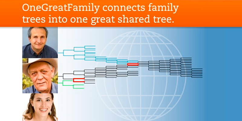 Detailed review of OneGreatFamily Genealogy & Family Tree