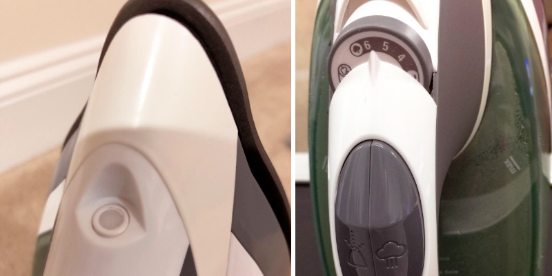 Black & Decker ICR2020 Vitessa Advanced Steam Iron with Retractable Cord in the use