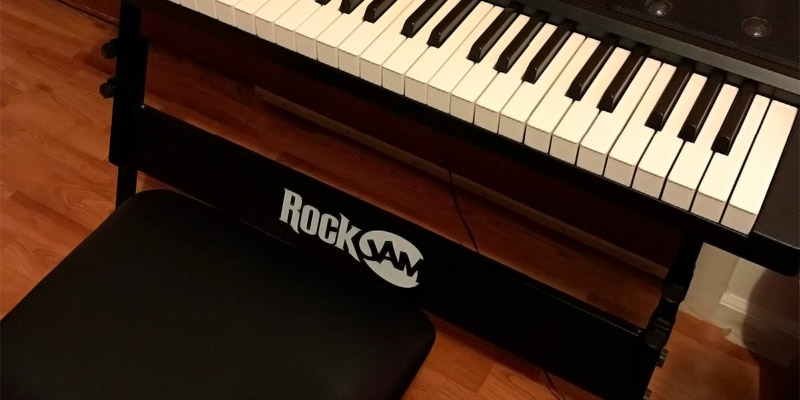 RockJam RJ561 Electronic Keyboard SuperKit with Stand, Stool, Headphones & Power Supply application