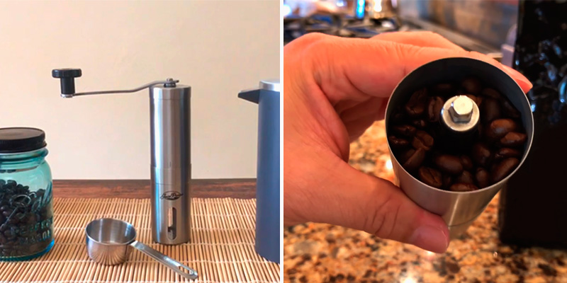 Review of JavaPresse Burr Manual Coffee Grinder with Adjustable Setting