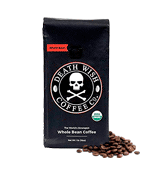 Death Wish Coffee Co. Organic Whole Bean Coffee Dark Roast
