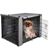 yotache Dog Crate Cover for 18 22 24 30 36 42 48 Inches Double Door Wire Dog Cage