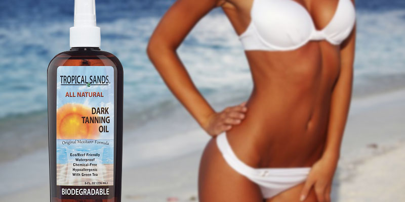 Review of Tropical Sands Biodegradable Coconut Oil for Tanning Bed