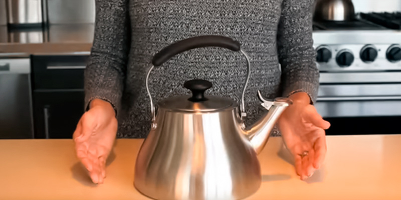 Review of OXO 3 Quart Classic Brushed Stainless Tea Kettle
