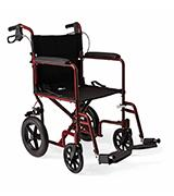 Medline MDS808210ARE Transport Wheelchair with Brakes