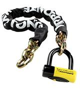 Kryptonite 999492 Chain with Disc Lock