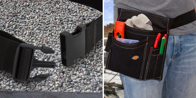 Review of Dickies 5-Pocket Single Side Tool Belt Pouch