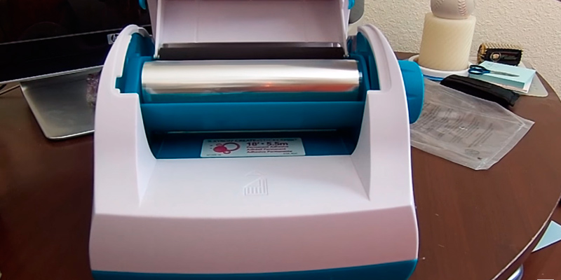 Xyron XRN500EN Create-a-Sticker Machine, 5 inch in the use
