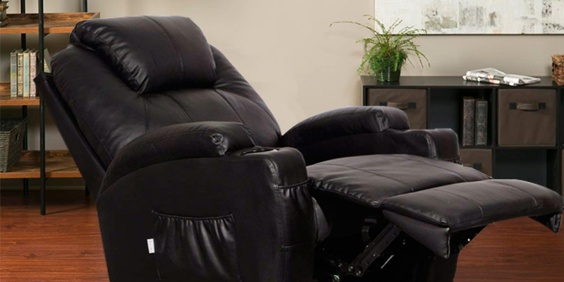 Review of Esright Massage Recliner Heated Fabric Ergonomic Lounge 360 Degree Swivel