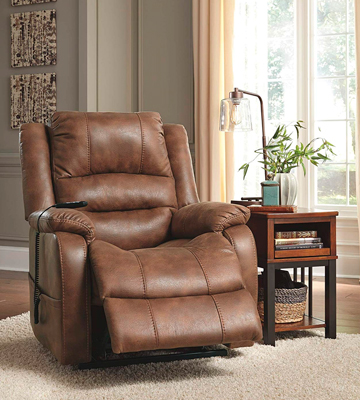 Review of Ashley Furniture Yandel Power Lift Recliner