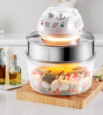 Review of VonShef Halogen Convection Countertop Oven