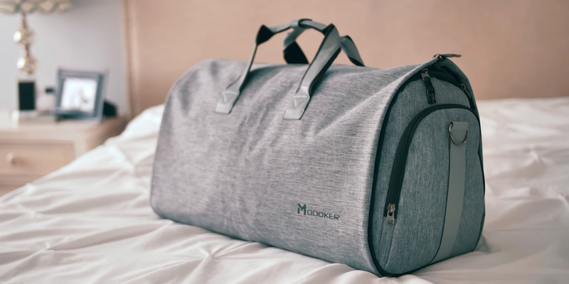 Review of Modoker 2 in 1 Hanging Suitcase Suit Travel Bags