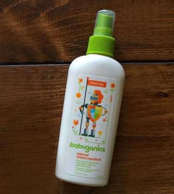 Review of Babyganics Natural DEET-Free Insect Repellent