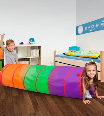 Review of Sunny Days Entertainment 6-Foot Assembly-Free Adventure Play Tunnel for Kids