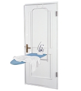 Honey-Can-Do Ironing Board Over The Door Sturdy Frame