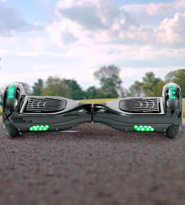 Review of XtremepowerUS Bluetooth Speaker and LED Light Self Balancing Scooter
