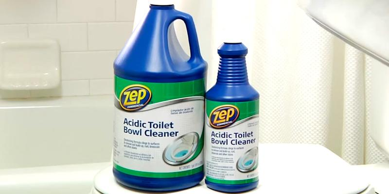 Review of Zep Commercial Acidic Toilet Bowl Cleaner