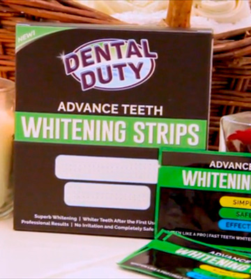 Review of Dental Duty Professional Teeth Whitening Strips Whiten Your Tooth With The Best 3D Dental Whitestrips