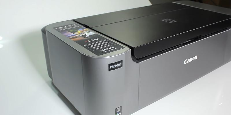 Canon Pro-100 Professional Inkjet in the use