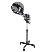 mefeir 600W Professional Salon Hair Steamer Stand Up with Hood