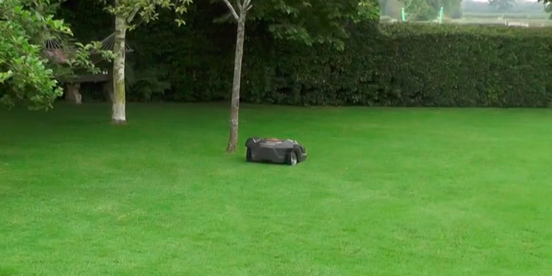 Husqvarna Automower 430X Robotic Lawn Mower in the use