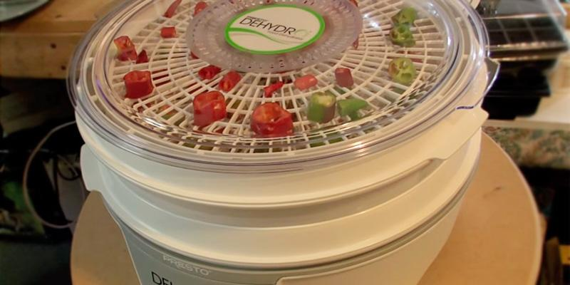 Presto 4 Tray Dehydro Electric Food Dehydrator, 06300 in the use