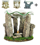 WholesaleMart Decorative Stonehenge Oil Warmer