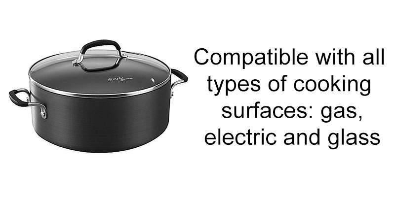 Detailed review of Calphalon Simply Nonstick 7-Quart Dutch Oven & Cover