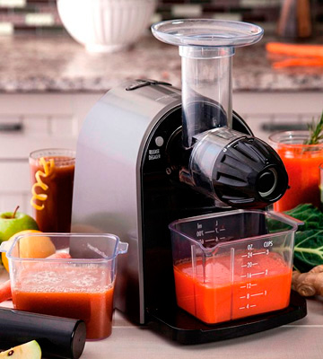 Review of Hamilton Beach 67951 Masticating Juicer Machine