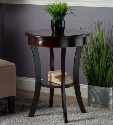 Review of Winsome Wood 40627 Accent Table with Drawer