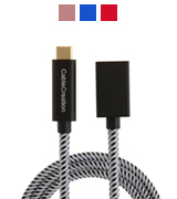 CableCreation CC0324 USB 3.1 Type-C Male to Female Extension Cable