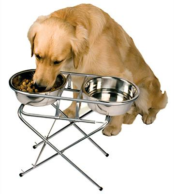 Review of PetZone Stainless Steel Adjustable Elevated