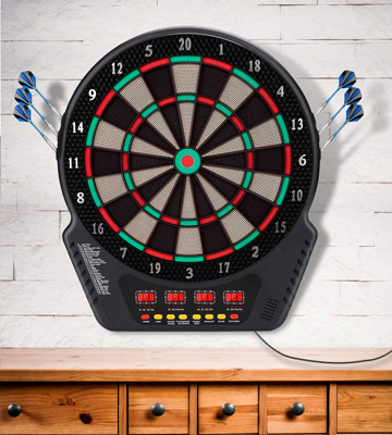 Review of Biange Electronic Dartboard Set