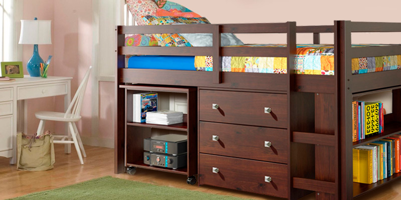 Review of DONCO KIDS 760-CP Low Study Loft Bed