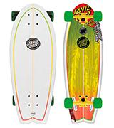 Santa Cruz Skateboards Land Shark Rasta Sk8 Complete Skate Boards