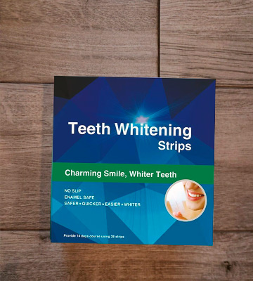 Review of Fairywill Teeth Whitening Strips Professional Kit with Non-Slip Tech Safe