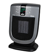 Delonghi DCH5090ER Safe Heat 1500W Digital Ceramic Heater with Remote Control and Eco Energy Setting