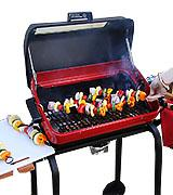 Meco Cart Outdoor Electric Grill