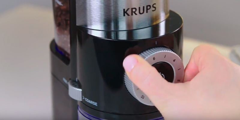 Review of KRUPS GX5000 Professional Electric Coffee Burr Grinder, Black