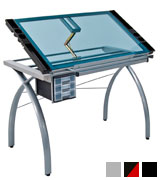 Studio Designs 10050 Futura Craft Station Drafting and Drawing Table with Storage