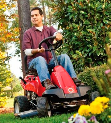 Review of Troy-Bilt 420cc OHV Riding Lawn Mower