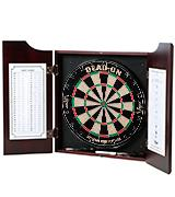 Viper Hudson Sisal/Bristle Fiber Outdoor Dartboard and Cabinet Bundle
