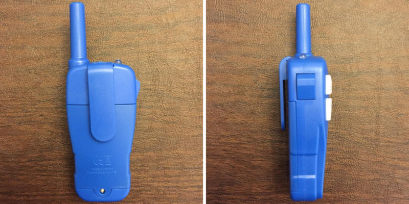 Review of Little Pretender Walkie Talkie for Kids, 3 Channels, Built in Flash Light