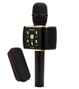 hmovie Portable Handheld Wireless Bluetooth Karaoke Microphone