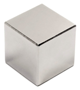 "CMS Magnetics NB0205-50NM-FBA Super Strong 1"" Neodymium Cube Magnet"