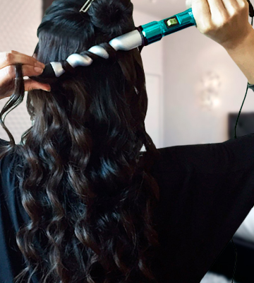 Review of Bed Head Curlipops Spiral Curling Wand Creates Spiral Curls, 1