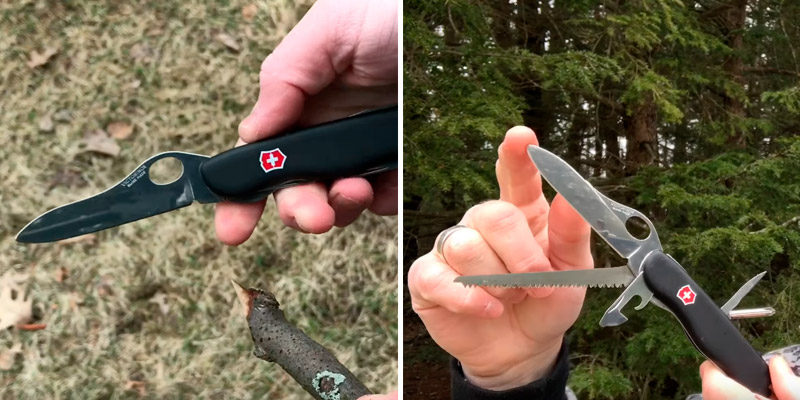 Review of Victorinox One-Hand Trekker Swiss Army Multi-Tool Pocket Knife