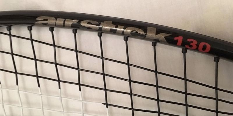Prince Airstick 130 Squash Racquet in the use