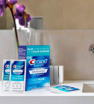 Review of Crest __3D White Whitestrips Vivid Plus